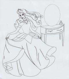 Ζωγραφίζω με αστεία αυτοκόλλητα: Η βασίλισσα που χορεύει