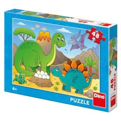 Puzzle Δεινόσαυροι 48τμχ – Dino toys