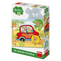 Puzzle Μεγάλο σαφάρι 24τμχ XL - Dino toys