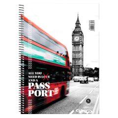 Σπιραλ 17x25 Passport 2θ - Salko
