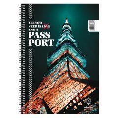 Σπιράλ 17x25 Passport 4θ- Salko