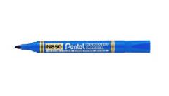 Μαρκαδόρος Ανεξίτηλος Στρογγυλή Μύτη Μπλε – Pentel